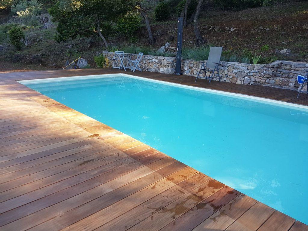 piscine béton enterrée
